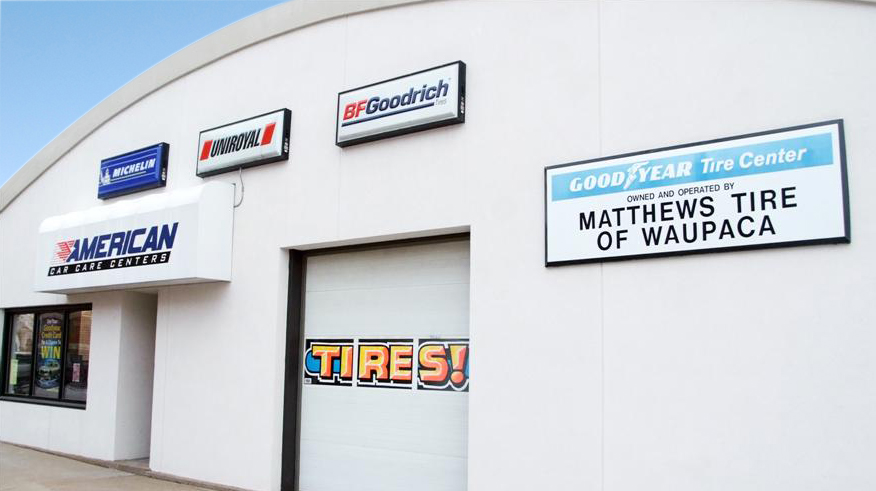 Matthews Tire in Waupaca